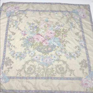 Vintage Liz Claiborne Scarf Floral Pattern